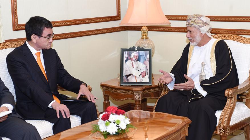 جلسة مباحثات عمانية يابانية لاستعراض سبل تعزيز العلاقات الثنائية وتطوير التعاون الاقتصادي