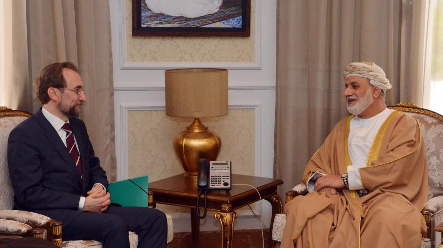 وزير العدل يناقش التعاون مع زيد بن الحسين