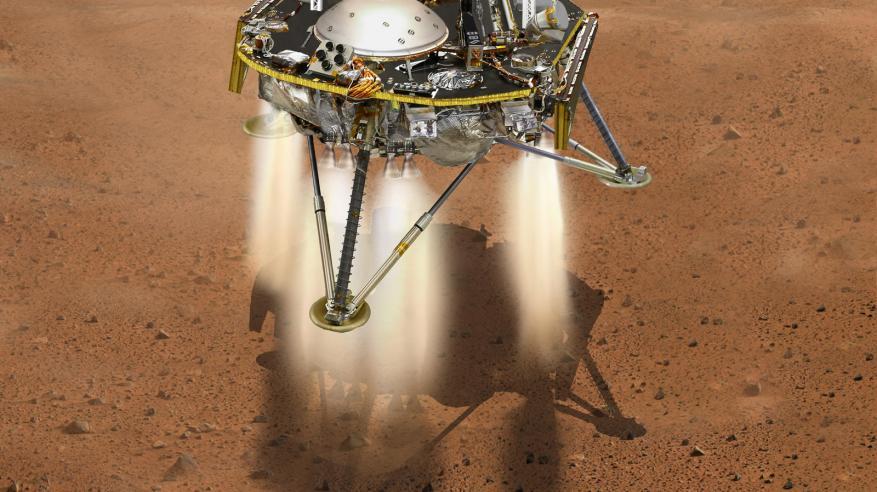 """""""ناسا"""" تطلق مسبارا آليا لرصد """"زلازل الكوكب الأحمر"""""""