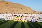 بنك مسقط يحتفل بافتتاح الملعب الجديد لفريق السيدافي بدماء والطائيين