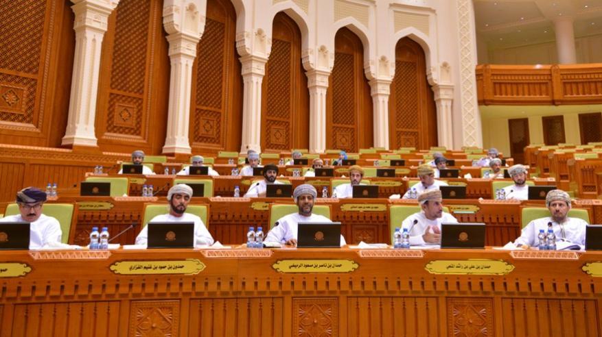 الاعضاء في المجلس