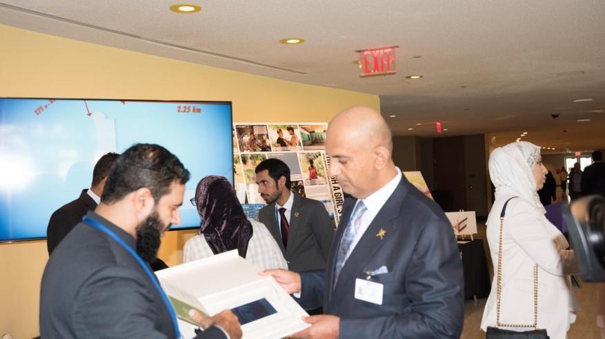 وفد السلطنة يعزز مجالات التعاون مع ممثلي غرفة التجارة العربية الأمريكية