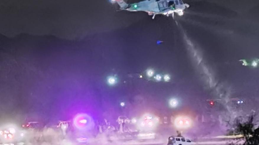 عمليات انقاذ طيران الشرطة