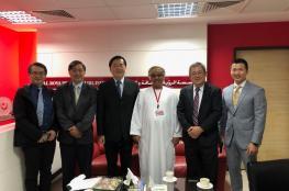"""رئيس جامعة دونج هوا التايوانية يزور """"الرؤية"""""""