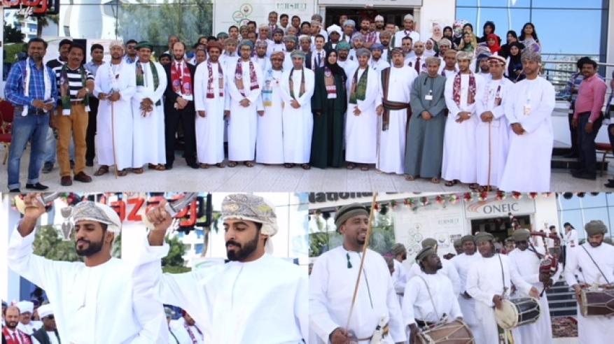 """""""الوطنية العمانية للهندسة والاستثمار"""" تحتفل بالعيد الوطني"""