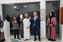 افتتاح معرض الفنان الفلندي ماتي سيرفيو