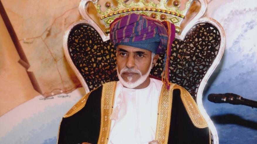جلالة السلطان يتلقى برقية شكر من أمير الكويت