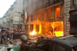 بالفيديو والصور.. إصابة 36 شخصا في انفجار قوي يهز باريس