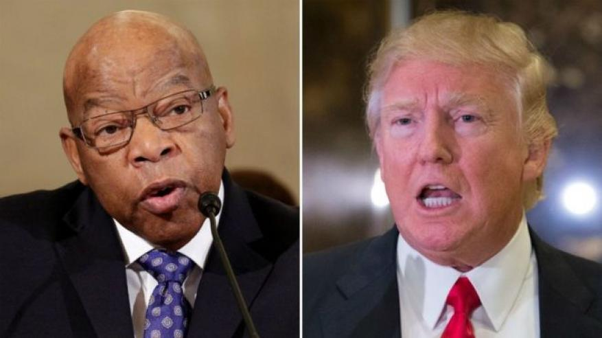 زيادة مقاطعة الديمقراطيين لحفل تنصيب ترامب بعد هجومه على جون لويس