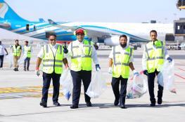 حملة للتوعية بسلامة العمليات الجوية في ساحة مطار مسقط الدولي