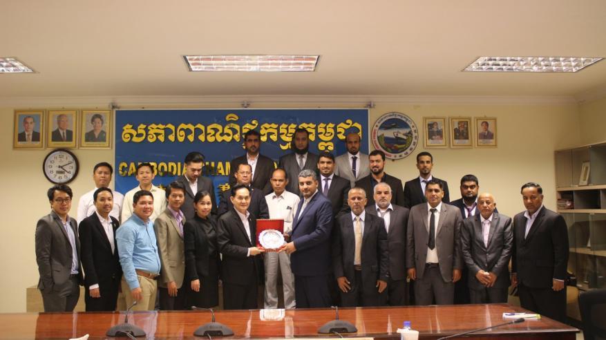 """وفد """"غرفة جنوب الباطنة"""" يزور كمبوديا"""