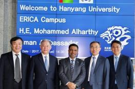 سفارة السلطنة بجمهورية كوريا تنظم معرضا ثقافيا بجامعة هانيانج