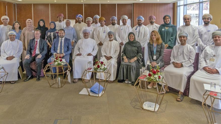 """""""عمان العربي"""" يستضيف ورشة عمل لعرض مشاريع النسخة الثالثة من برنامج """"قيادة"""""""