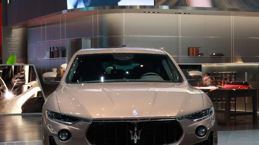Maserati Levante S Q4 GranSport at Geneva Motor Show