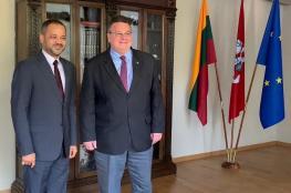 استعراض التعاون الثنائي بين السلطنة وليتوانيا