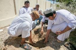 حملة توعوية لاستزراع شتلات أشجار اللبان