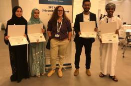 """جامعة السلطان قابوس الأولى على الشرق الأوسط بمسابقة """"مهندسي النفط"""""""