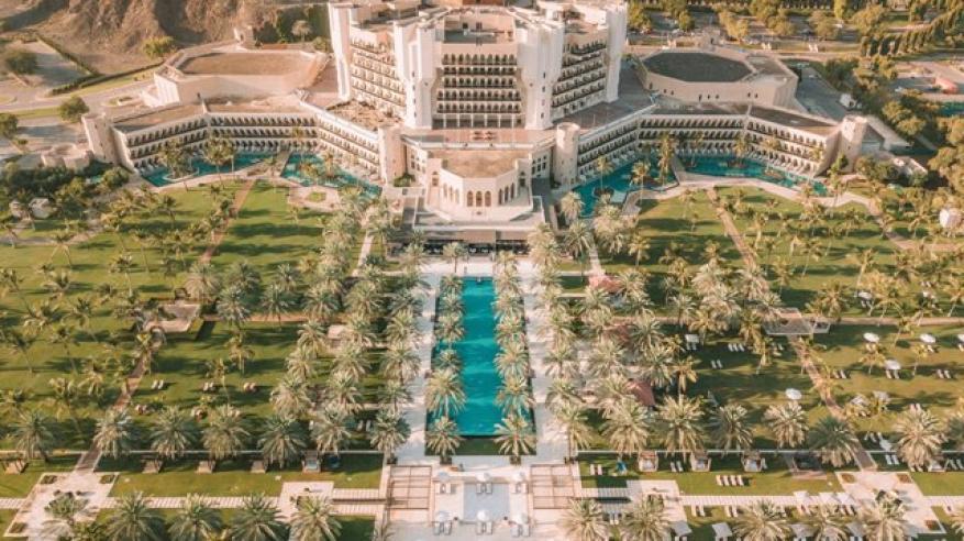 قصر البستان ضمن أفضل 15 فندقا في الشرق الأوسط