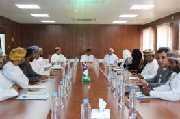 اللجنة الفنية لضمان الجودة تزور تطبيقية صلالة