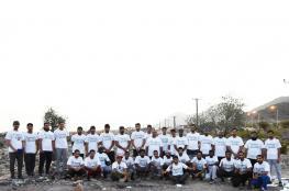 """45 مشاركا في رحلة الجبل لفريق """"37 سيليزي"""""""