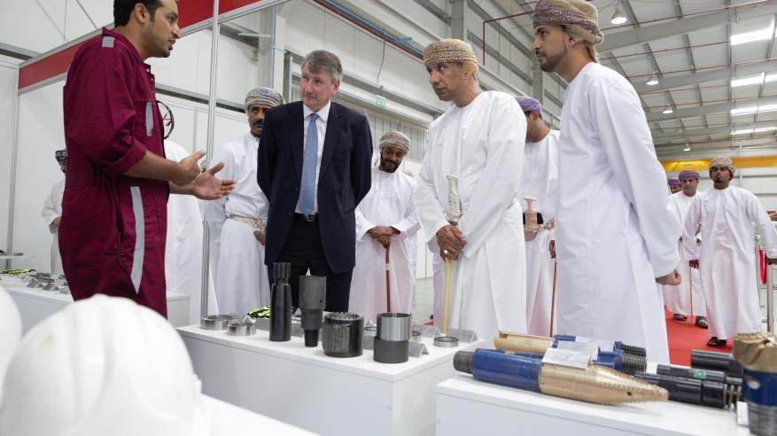 """""""تنمية نفط عمان"""" تدعم مصنعا عمانيا لإنتاج معدات الآبار في نزوى"""