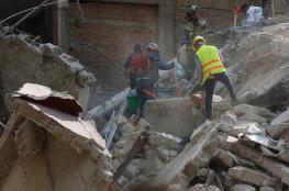 بالفيديو والصور.. 250 قتيلا  في زلزال المكسيك