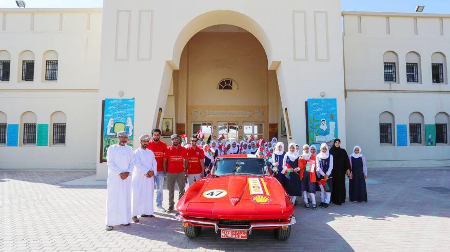 """ختام ناجح لحملة """"شل عمان"""" احتفالا بالعيد الوطني المجيد"""