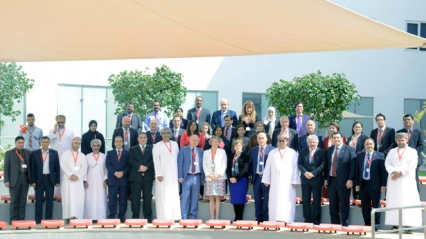 كلية الخليج تستضيف لقاء الشبكة العربية الأوروبية للقيادة