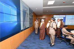 الاحتفال بافتتاح قيادة شرطة مُحافظة الوسطى وتخريج فصائل من المستجدين