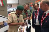 إقبال على معرض كشافة السلطنة بالمؤتمر الكشفي الـ41 بأذربيجان
