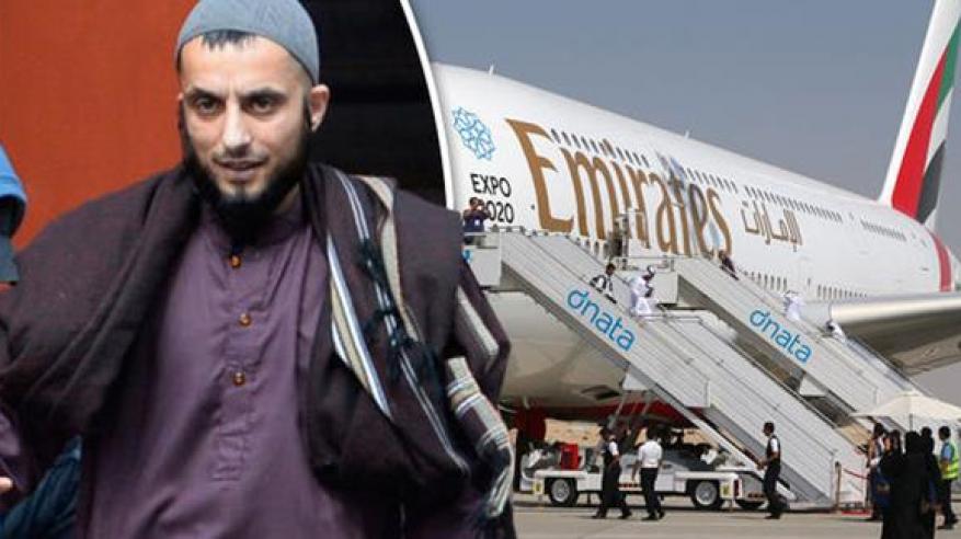 حبس راكب طائرة إماراتية بعد اتهامه بترويع الركاب