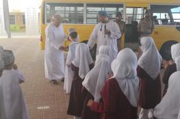 حملات توعوية مرورية بتعليمية شمال الشرقية