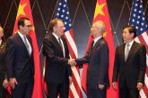 """""""بلومبرج"""": إنهاء الحرب التجارية لن يقضي على الخلافات بين أمريكا والصين"""