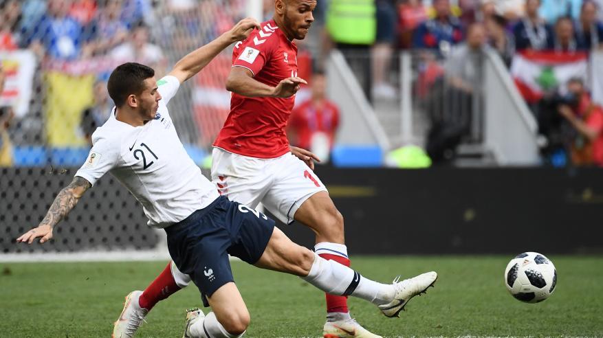 فرنسا والدنمارك يصعدان بعد أول مباراة بدون أهداف في المونديال