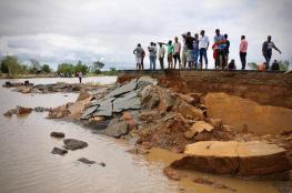"""بالفيديو.. 843 قتيلا حصيلة الإعصار """"إيداي"""" في أفريقيا"""