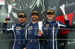 عمان لسباقات السيارات ثانيا في جولة بريطانيا من بطولة بلانك بان للتحمل