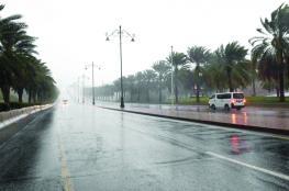 سحب منخفضة وأمطار على بعض المناطق .. والرستاق وفهود تسجلان أعلى درجة حرارة