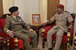 البلوشي يبحث التعاون العسكري مع رئيس الأركان الإيطالي