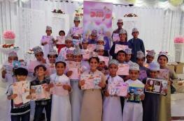 """200 طفل في ورشة """"مجلة مرشد"""" حول """"القراءة والخيال"""" بإزكي"""