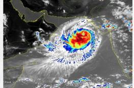 تطورات جديدة على الحالة المدارية في بحر العرب