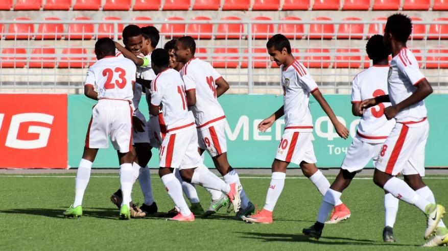 أحمرنا الصغير يمطر شباك المالديف بثمانية أهداف