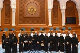 طلاب كلية الحقوق بجامعة صحار يزورون مجلس الدولة