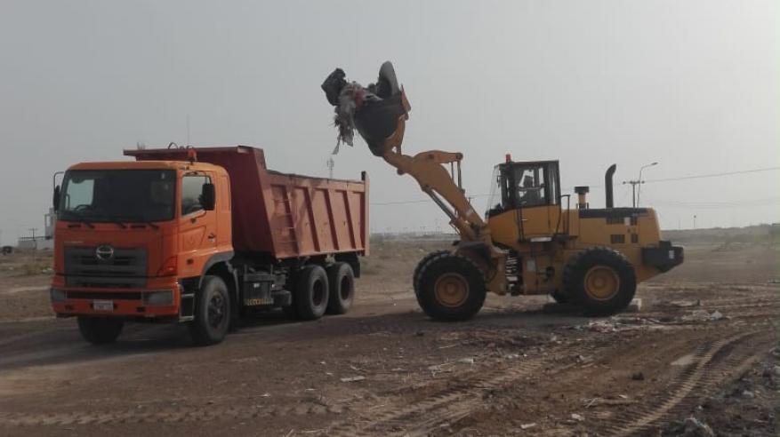 المرادم الهندسية تستقبل أكثر من 20 ألف طن نفايات بلدية ومخلفات ذبائح في العيد