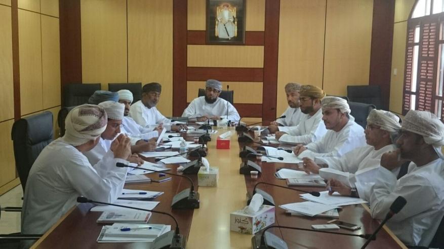 إقرار فعاليات لجنة الترويج والاستثمار بغرفة شمال الباطنة