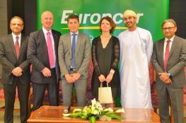 """توقيع اتفاقية امتياز """"يورب كار عمان"""" بمطار مسقط الجديد"""