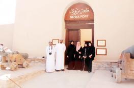 مشروع رقمي طلابي للترويج لقلعة نزوى