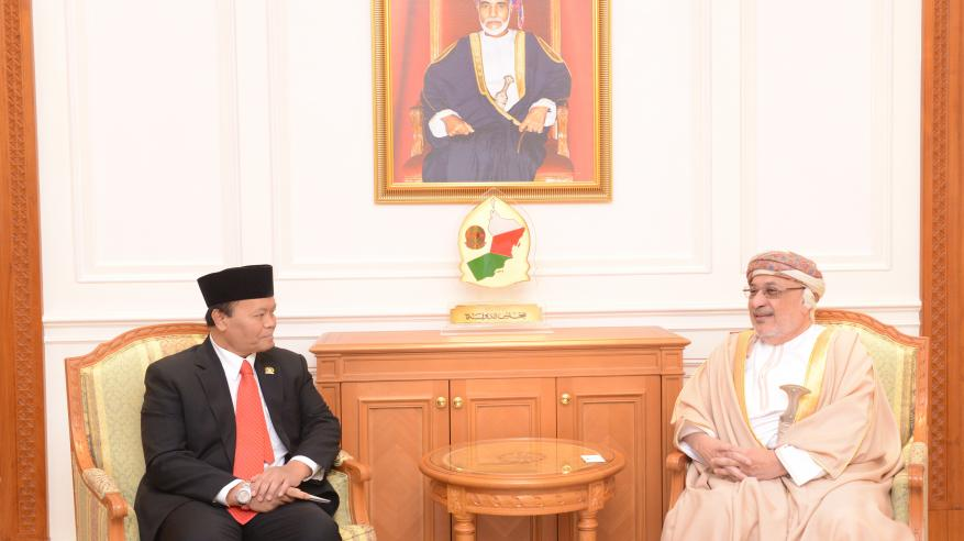 """المنذري يستعرض التعاون البرلماني مع نائب رئيس """"الشورى"""" الإندونيسي"""