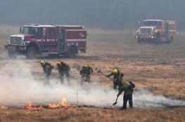 الموجة الحارة بأوروبا تنحسر في مركزها رغم استمرار الحرائق