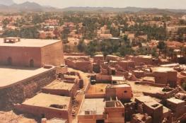 """حارة """"العقر"""" بواحة بهلا التاريخية.. وجهة سياحية تراثية تبرز الطراز المعماري التقليدي"""