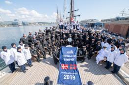 """""""شباب عمان الثانية"""" تتوج بجائزة الصداقة الدولية لسباقات السفن الشراعية الطويلة 2019"""